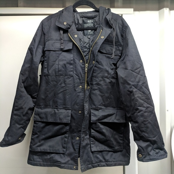 RVCA Mens Field Coat